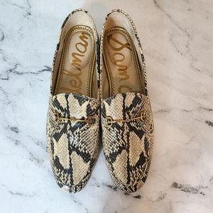 Sam Edelman Loraine Snake Loafers 10.5